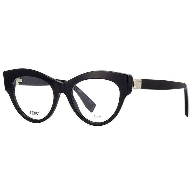 2f8e2426e8b74 Oculos de Grau Fendi Peekaboo Preto Original - oticaswanny