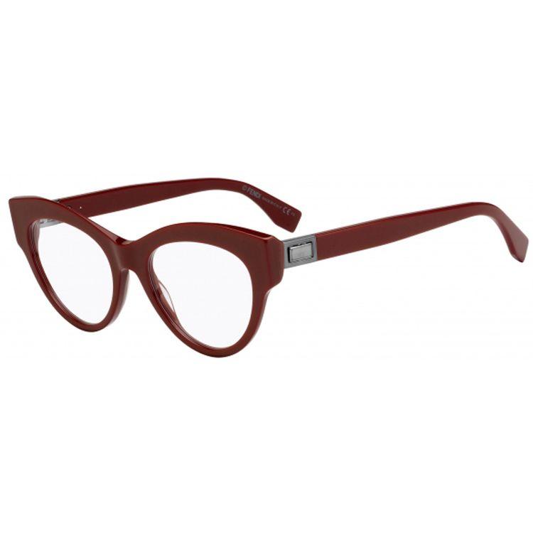 552356935953a Oculos de Grau Fendi Peekaboo Vermelho Original - oticaswanny