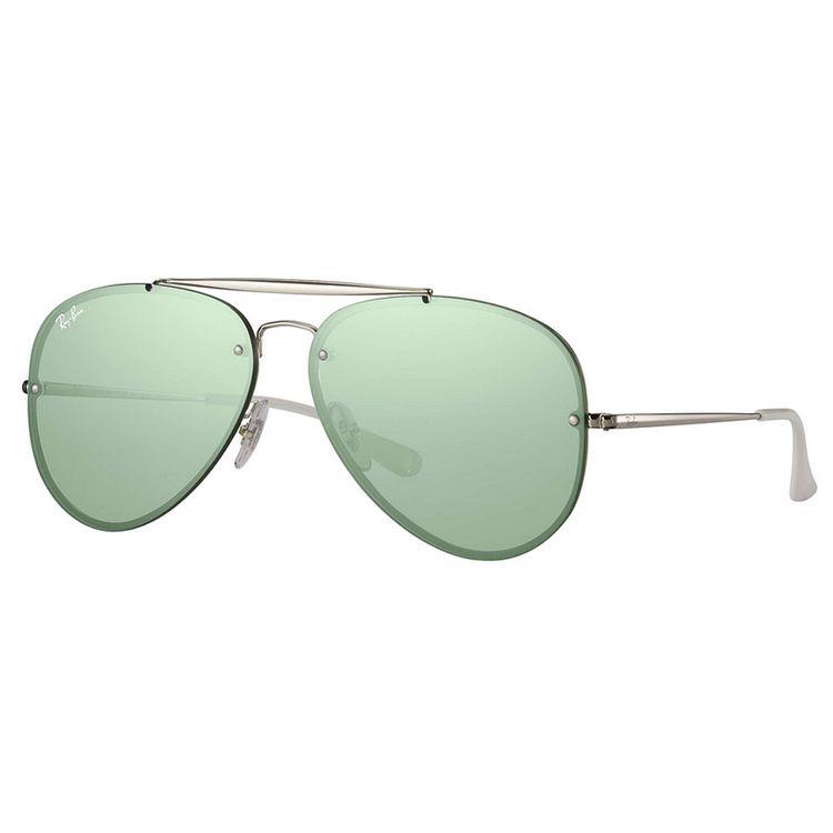 Oculos Ray Ban Blaze Aviador 3584N Espelhado Verde - oticaswanny 17e29fc96d