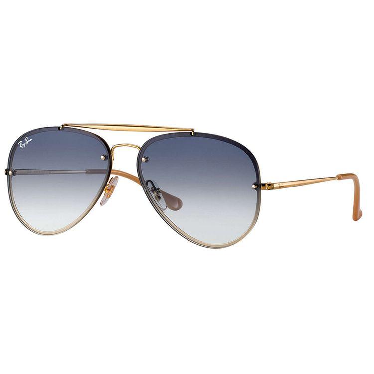 Oculos Ray Ban Blaze Aviador 3584N Degrade Azul - oticaswanny 61a0fbbd8f