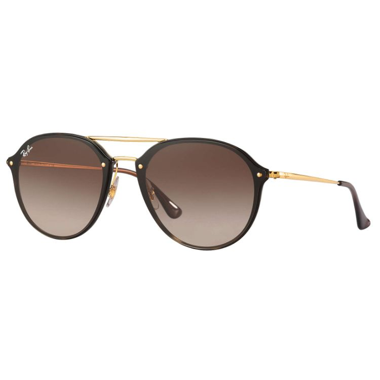 Oculos Ray-Ban Blaze Double Bridge Marrom - oticaswanny 8ecf23f0f0
