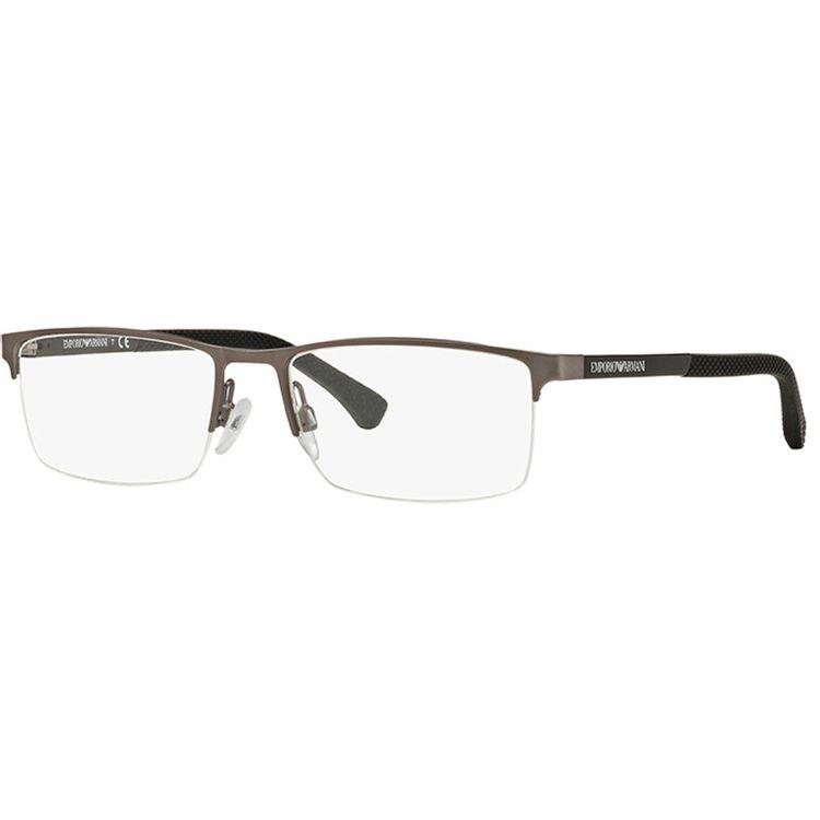 Oculos de Grau Emporio Armani 1041 Cinza Grafite - oticaswanny a0950de67a