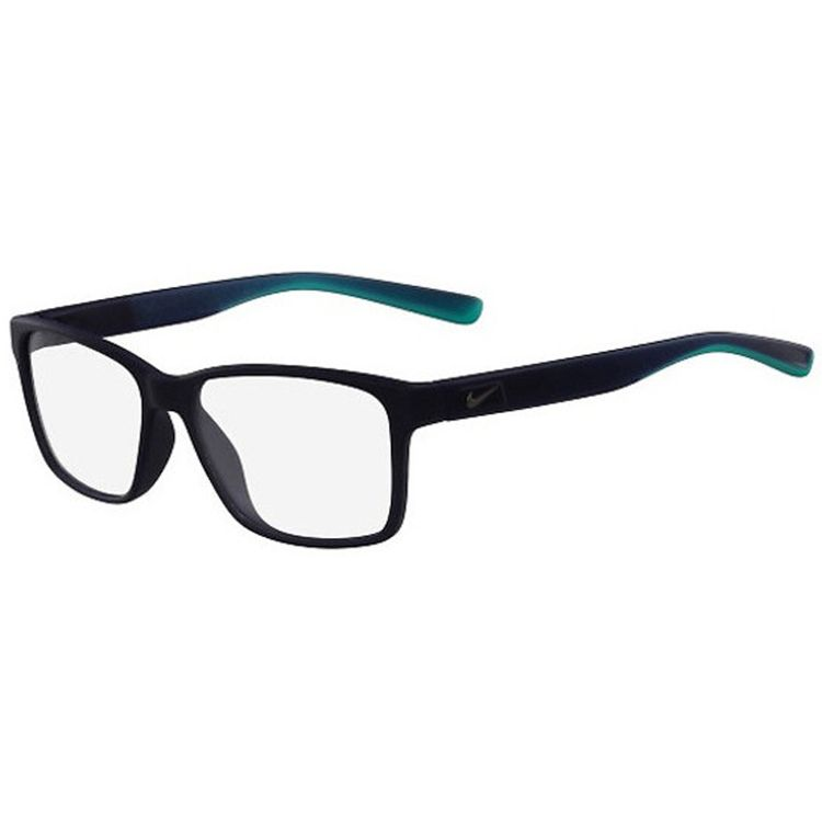 Oculos de Grau Nike 7091 Preto Azul Turquesa Original - oticaswanny ccbd1595ee