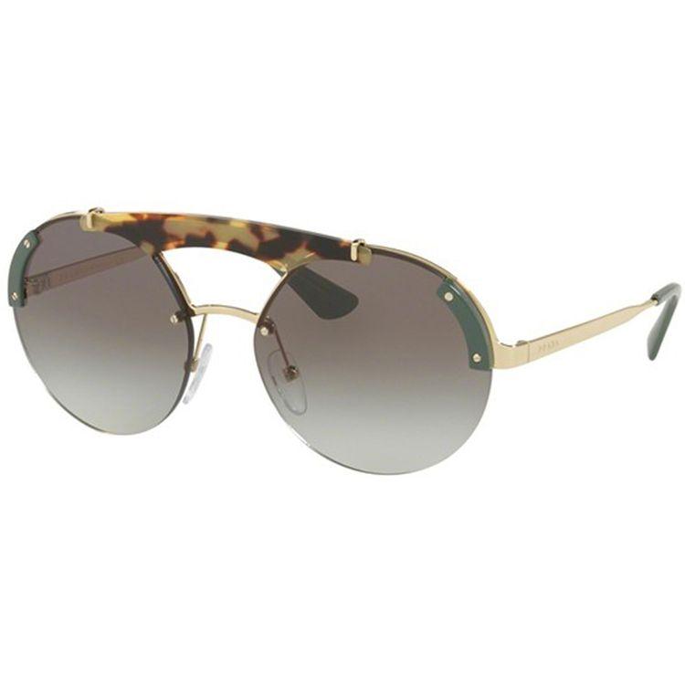 66801cadc Oculos Prada Absolute Ornate 52US Havana Verde - oticaswanny