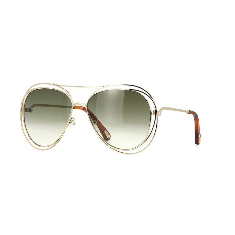 20619902127b2 Chloe Carlina 134S 792 Oculos de Sol Original - oticaswanny