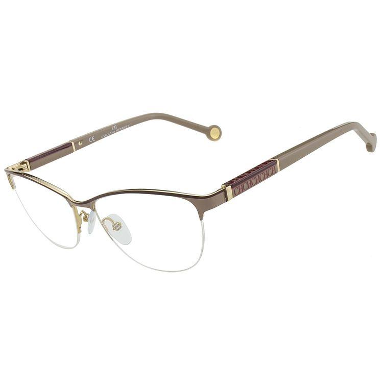 7f44ff1c0 Oculos Carolina Herrera VHE 727 484 - oticaswanny