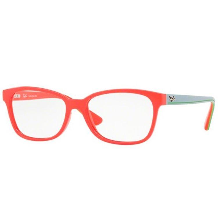 ed9a7aa9d Ray Ban Junior Infantil 1571 3715 Oculos de Grau Original - oticaswanny