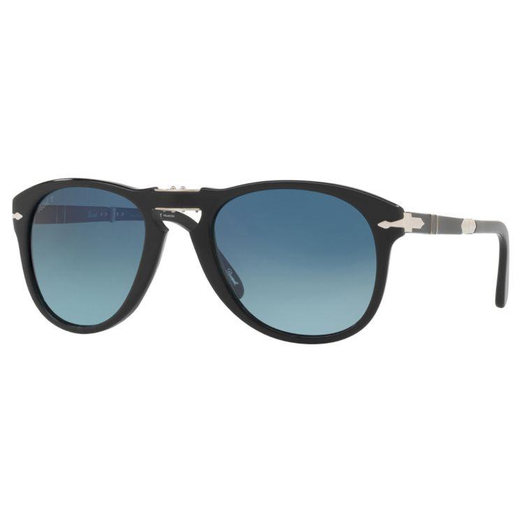 Persol Steve McQueen 714 Preto Oculos de Sol Original - oticaswanny 90b6eeaec7