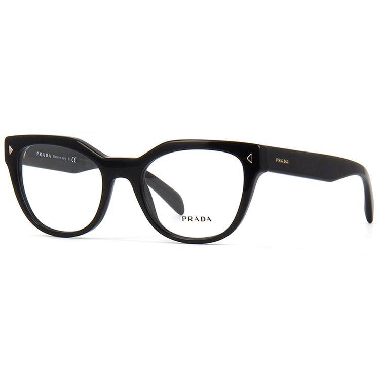 Oculos de Grau Prada 21SV Preto Original - oticaswanny 1129403ffb