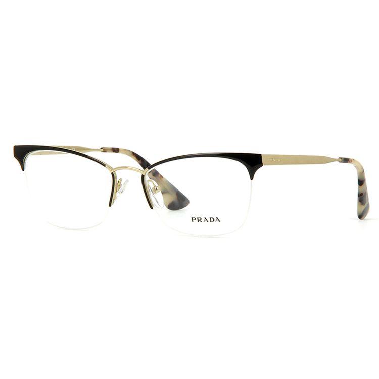 Oculos de Grau Prada 65QV Preto - wanny 56a310401a