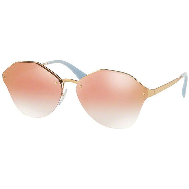 Oculos de sol Prada Cinema Evolution 65TS Rose Espelhado - oticaswanny d9731da72b