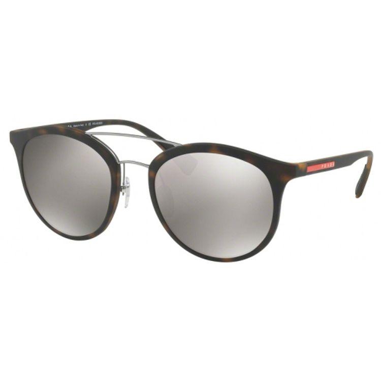 29be9fb181543 Oculos Prada Linea Rossa 04RS Tartaruga Espelhado - oticaswanny