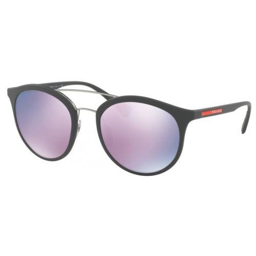 c7916e0478d06 Oculos de Sol Prada Linea Rossa 04RS Espelhado Roxo - oticaswanny