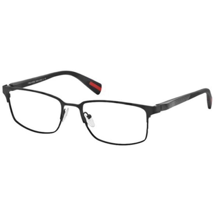 6563cbb20 Oculos de Grau Prada Sport 50FV Preto - oticaswanny
