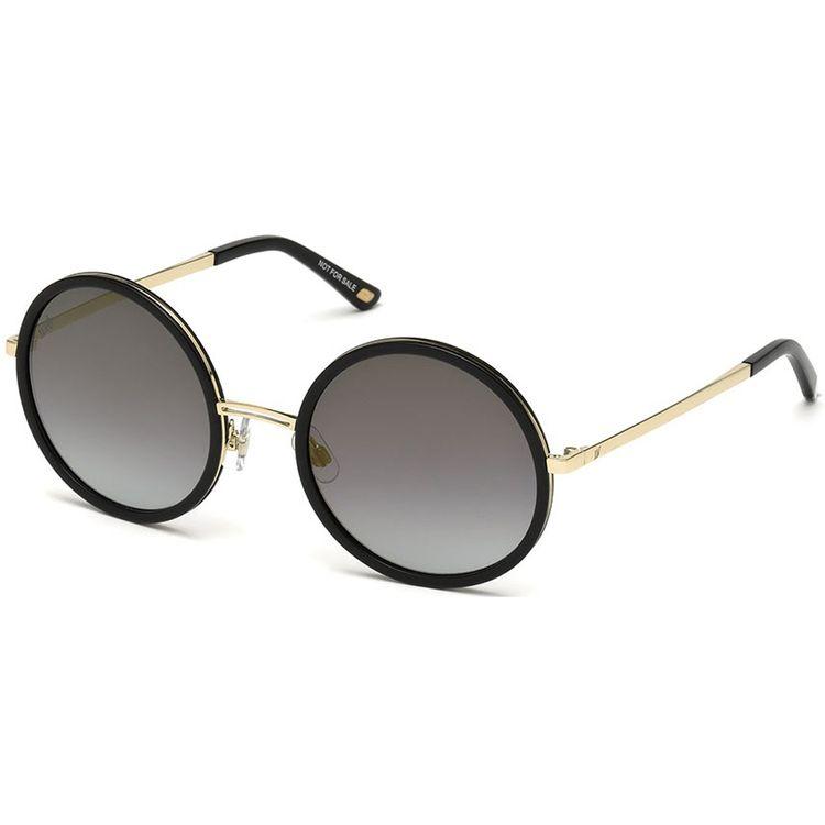 8010e8912 Web Eyewear 200 Preto Dourado Original - oticaswanny
