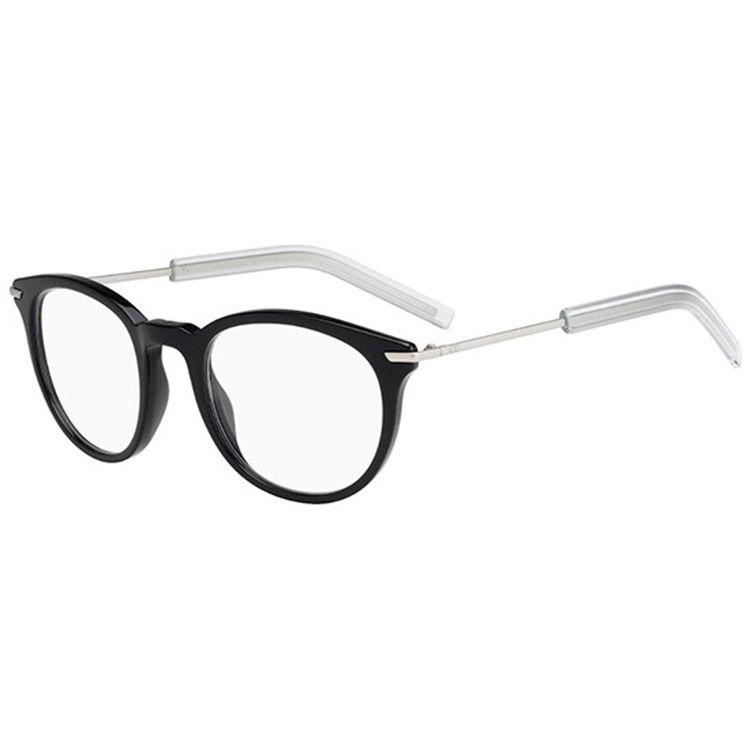 Oculos de Grau Dior Black Tie 201 Preto - oticaswanny bf6728d58e