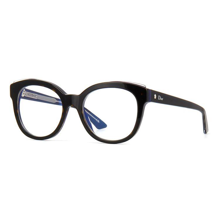 f477cbc5e21fa Oculos de Grau Dior Montaigne 4 L Evidente Tartaruga Azul - oticaswanny