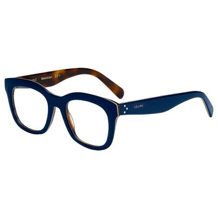 9a19d93ca443c Oculos de Grau Celine Baby Marta 41378 Azul com Tartaruga - oticaswanny