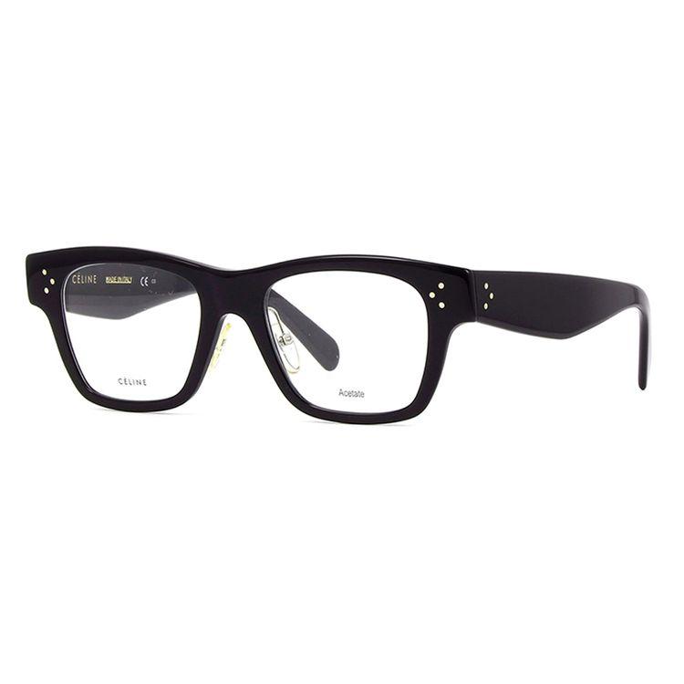 9b5433f7033f2 Oculos de Grau Celine 41428 Preto - wanny