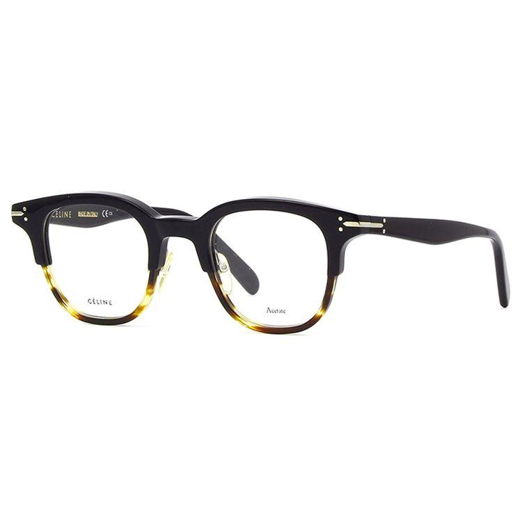 de326c6b1788d Oculos de Grau Celine Erin 41422 Preto com Havana - oticaswanny