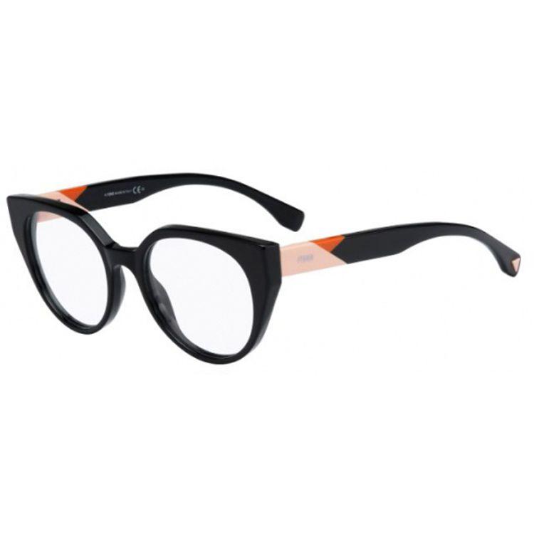 925c617b64585 Oculos de Grau Fendi Facets 0160 Preto - oticaswanny
