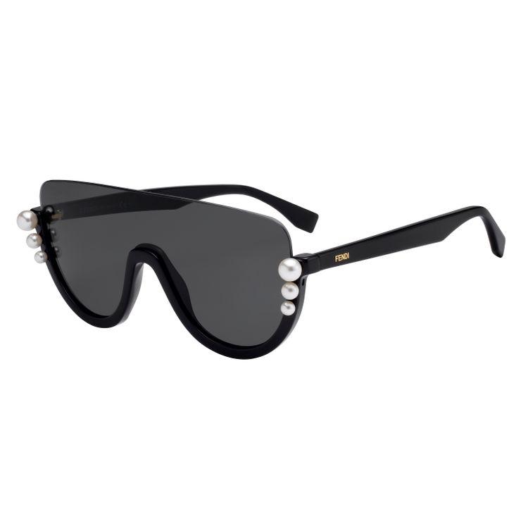 7a890b34d1c42 Oculos de sol Fendi Ribbons Pearls 0296 807IR - oticaswanny
