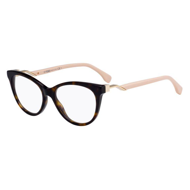 7b818bf7ceb4e Fendi Cube 201 0T417 Oculos de Grau Original - oticaswanny