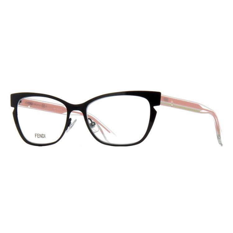 83b5c67e78c8f Oculos de grau Fendi Lines 0135 N8T - oticaswanny