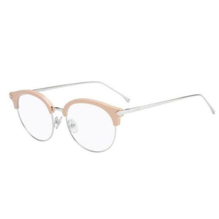 3a8cbda2ad811 Oculos de grau Fendi Funky Angle 0165 V5N - oticaswanny