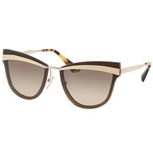 Óculos de Sol Prada Marrom – oticaswanny 291dde0834