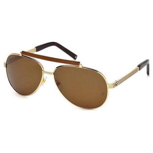 Oculos de sol Mont Blanc 454 28M - oticaswanny c55abb85e1