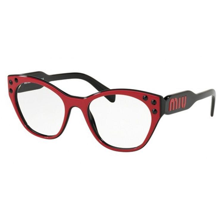 03f2b805b Miu Miu Logomania 02RV 1051O1 - Oculos de Grau - oticaswanny