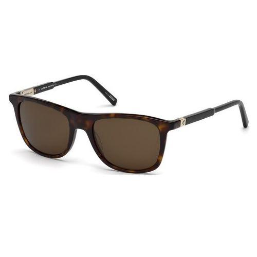 Oculos de sol Mont Blanc 647 52J - wanny 0ce63bb5d4