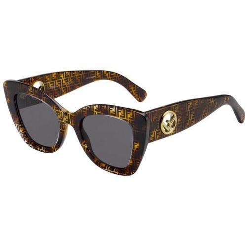 Fendi 327 086IR Oculos de Sol Original - oticaswanny 2468920109