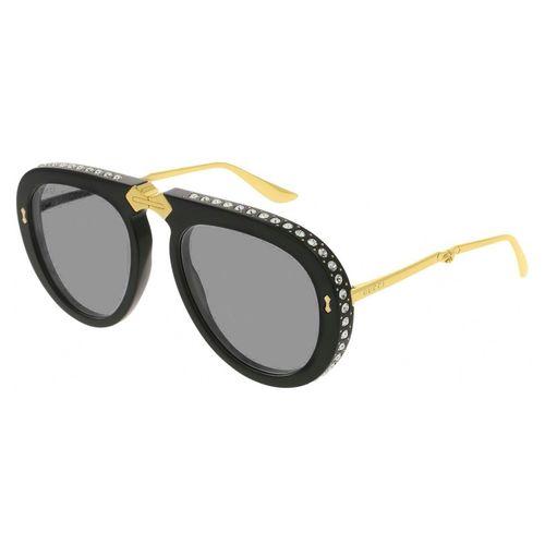 0809038908640 Gucci 307 001 Oculos de Sol Original - oticaswanny