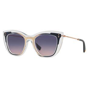 9c38430dc8435 Óculos de Sol Valentino Geométrico – oticaswanny