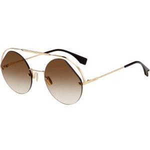 cce5179f1 Óculos de Sol Fendi Dourado – oticaswanny