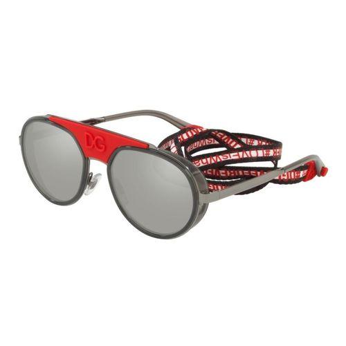 Dolce Gabbana 2210 046G Oculos de Sol Original - oticaswanny 7ac612ac90