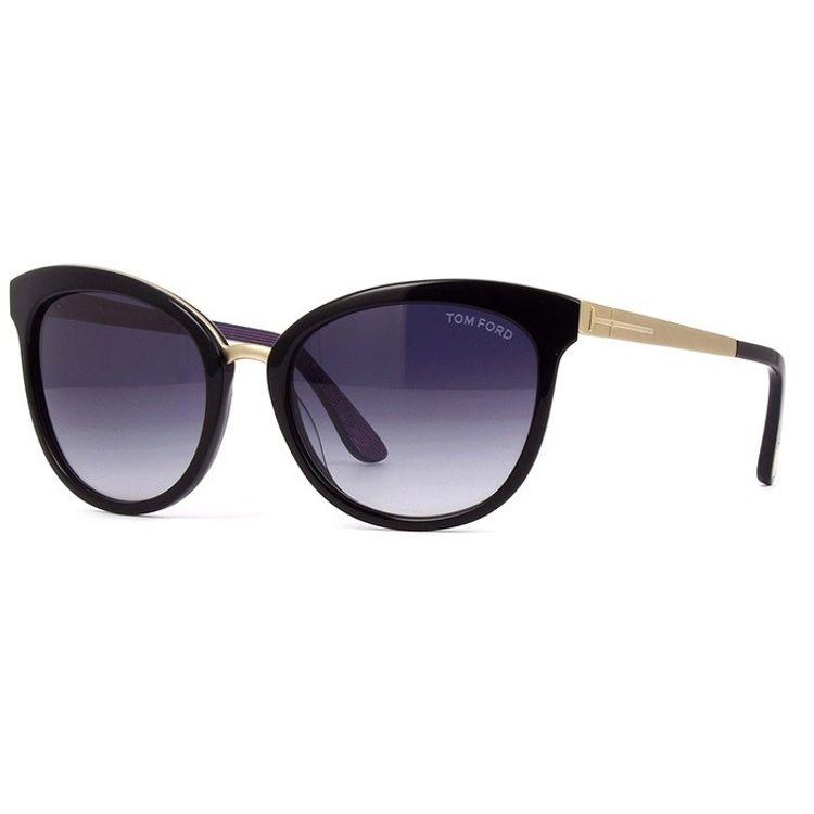 dbc9aae01 Oculos de Sol Tom Ford Emma 461 Preto - oticaswanny
