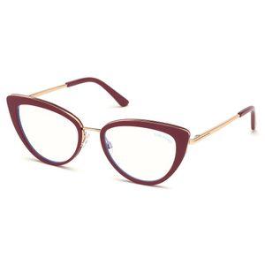 748f4cc98 Tom Ford 5580B Blue Look 081 - Oculos de Grau